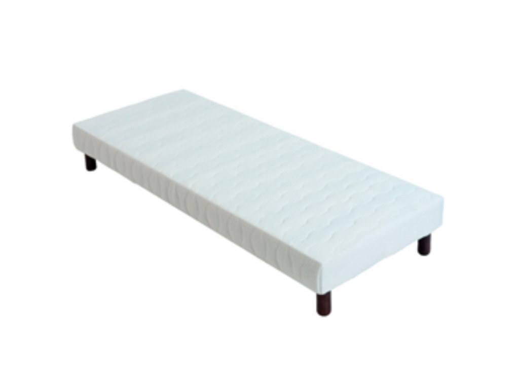 Sommier gallery of single bed sommier single flou with sommier